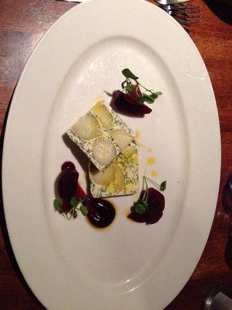 Chadwicks Inn Maltby: goats cheese