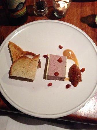 Chadwicks Inn Maltby: chicken liver pate- yummy!