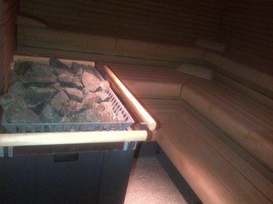 Tschuggen Grand Hotel: sauna