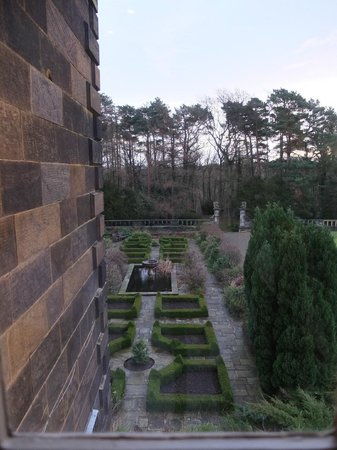 Crathorne Hall Hotel: View from the room