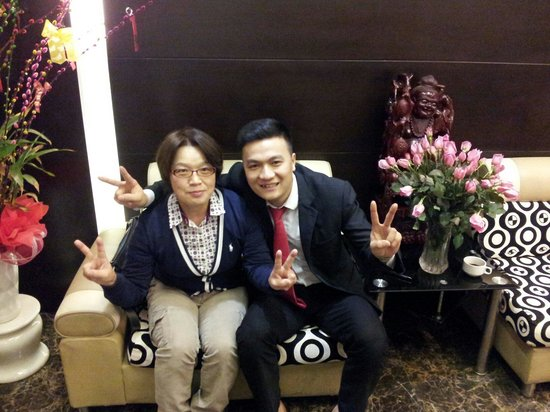 Tu Linh Palace Hotel: Timと一緒に