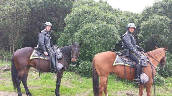 Golden Gate National Recreation Area (Golden-Gate-Erholungsgebiet): Safety Patol in the park