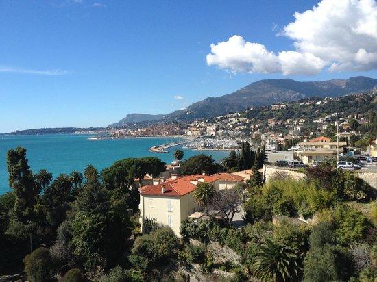 Mirazur: Views from Restaurant