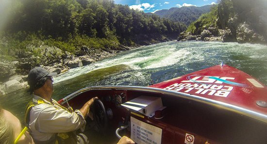 Buller Canyon Jet: watch the rock