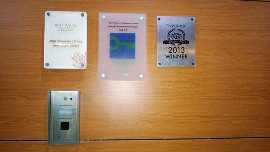 Real Marina Residence: awards