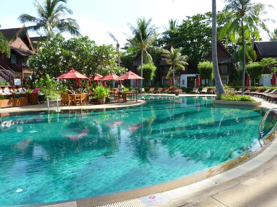 Amari Koh Samui : Back pool - peaceful!