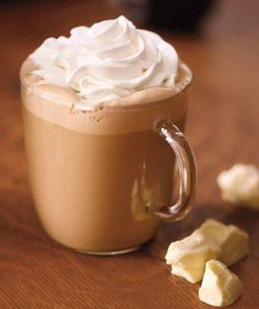 White Chocolate Mocha from Starbucks