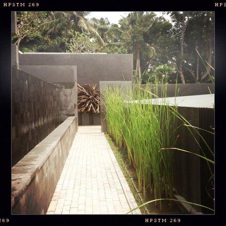 Aria Villas Ubud: Walkways between villas