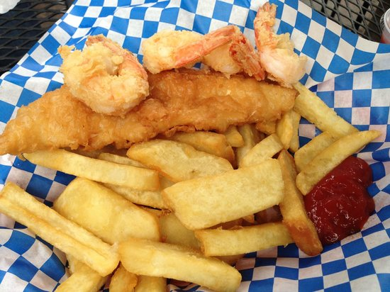 The Codmother Fish & Chips: Combo, Fish and Chips