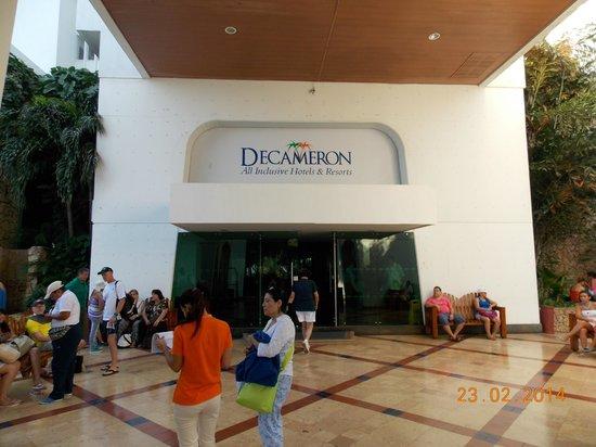 Decameron Cartagena: Entrada