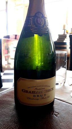 The Hussar Grill Mouille Point: Graeme Beck Zero Brut MCC Bubbly