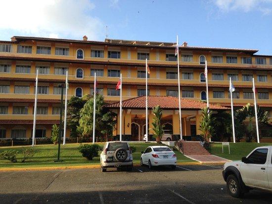 Melia Panama Canal: Vista frontal del Hotel