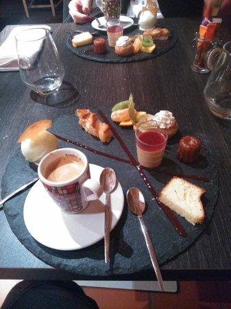 Hotel Restaurant de Paris : café gourmand