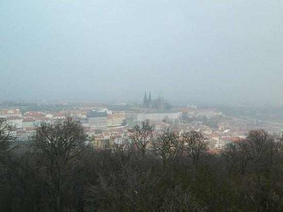 Petrin Tower (Rozhledna) : Vista dalla torre