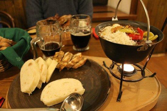 Svejk Restaurant U Karla: Goulash Pot