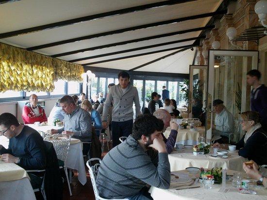Mecenate Palace : Restaurant on Roof Terrace