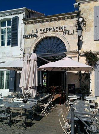 La Sarrasine : Avant le feu du service