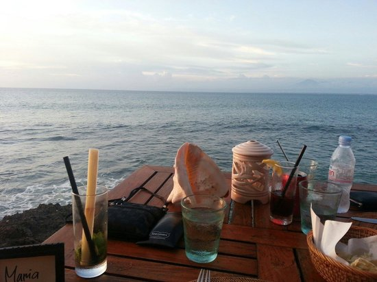 Kisik Bar and Grill at Ayana Resort and Spa: View from my table