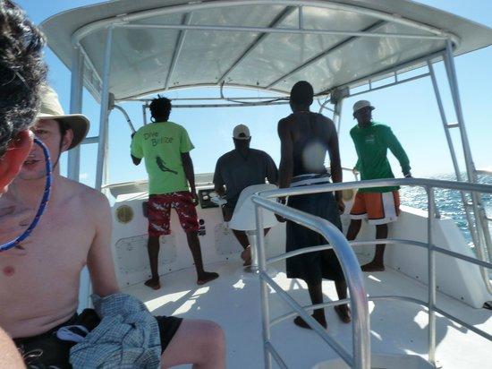 Belize Underwater : On the Bridge with Warren