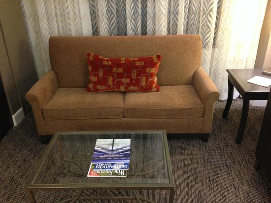 Hyatt Regency Dulles: Seating Area