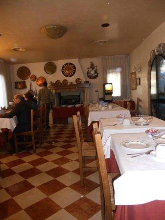 Hotel Bepi Ciosoto: sala colazione