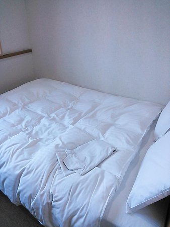 Green Rich Hotel Aso Kumamoto Airport : ベッド