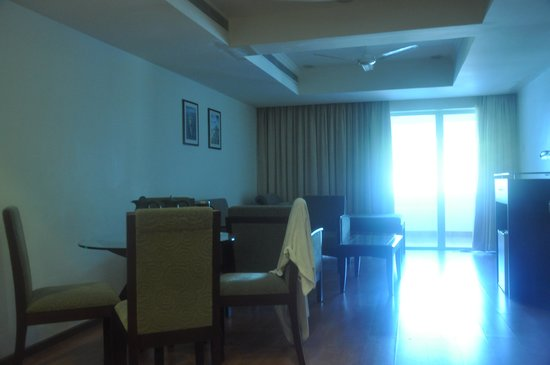 Blue Waters Cherai : suite_view from inside towards balcony