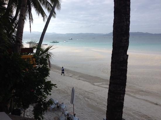 Jony's Beach Resort : view from restaurant