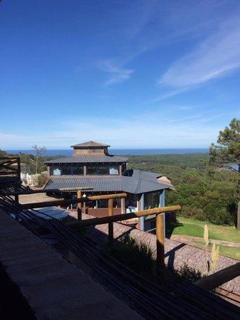 Hotel Art & Spa Las Cumbres: Vista desde la habitación Luna