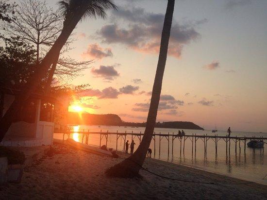 Samui Pier Resort: Sunset #amazing