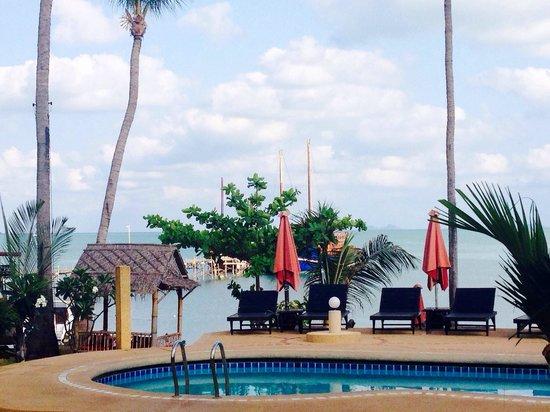 Samui Pier Resort: View from breakfast #love
