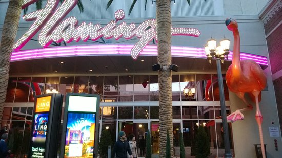 Flamingo Las Vegas Hotel & Casino: New entrance from the Linq
