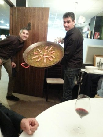 El Bolon Verde Restaurante : Eso si es una paella