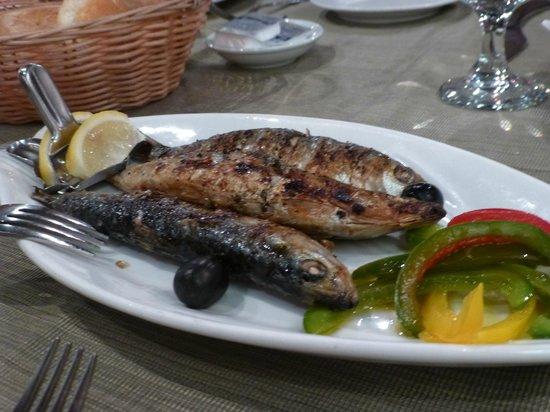 Restaurante Litoral : Grilled sardines
