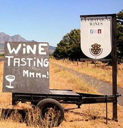 La Chataigne: Wine tasting?