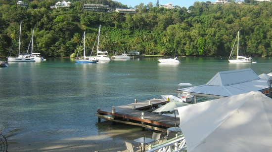 Marigot Beach Club and Dive Resort : Beautiful view!