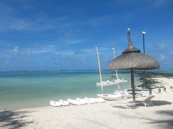 Ambre Mauritius : Vue de la plage