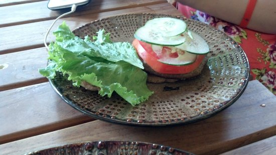 the kids luv burger - my carnivore daughter did NOT like the sauce