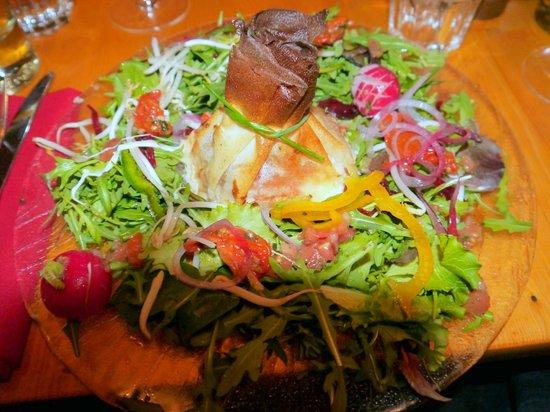 La Porte d'A Cote : Huge tasty starters!
