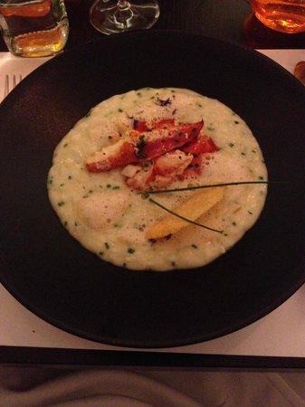 Le Séjour Café : Crab Risotto