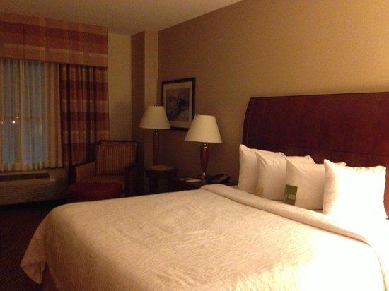 Hilton Garden Inn Houston / Sugar Land: View of the room as you enter.