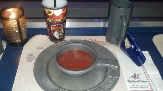 Medieval Times Dinner & Tournament: Love the soup