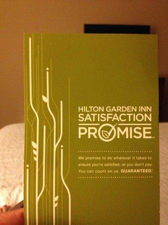 Hilton Garden Inn Houston / Sugar Land: Advetisement