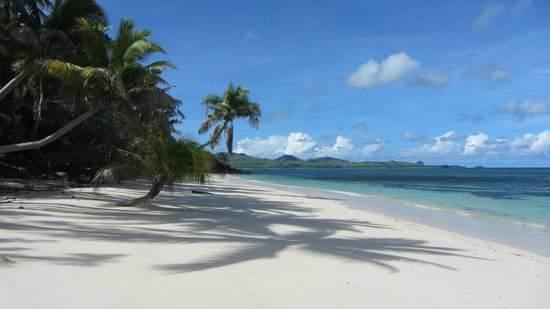 Turtle Island Resort: Long Beach on Turtle Island