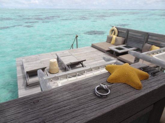Gili Lankanfushi Maldives: Residence villa
