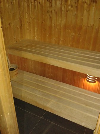 The Hideaway Experience: the sauna