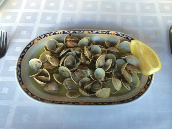 Rincon de Emilio: Almejas - clams