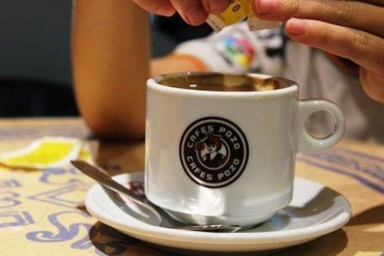 Maestro Churrero : Kaffe - naturligvis med sukker