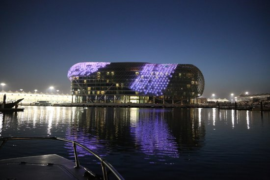 Captain Tony's: Yas Viceroy from the boat as we returned