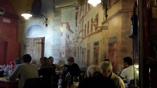 Osteria Cipolla Rossa: Muy florentino!!